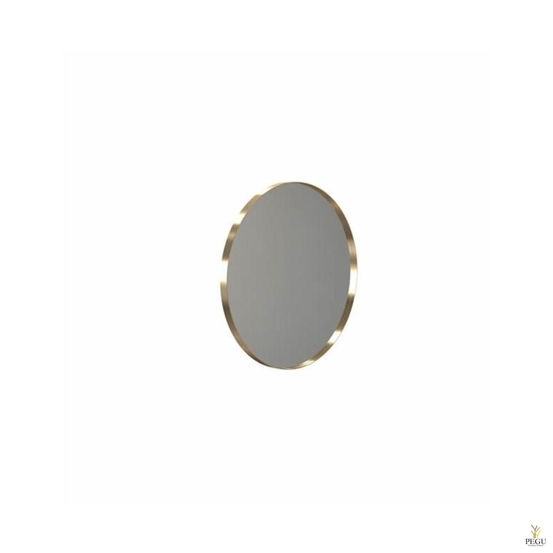 Peegel Frost UNU raamiga , d600mm harjatud vask