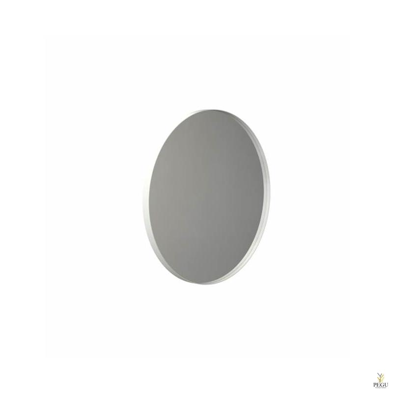 Зеркало Frost UNU с рамой , d600mm белое