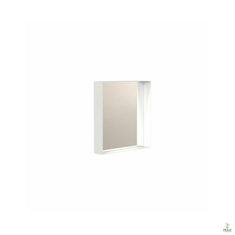 Зеркало Frost UNU с рамой , 400x400 белое