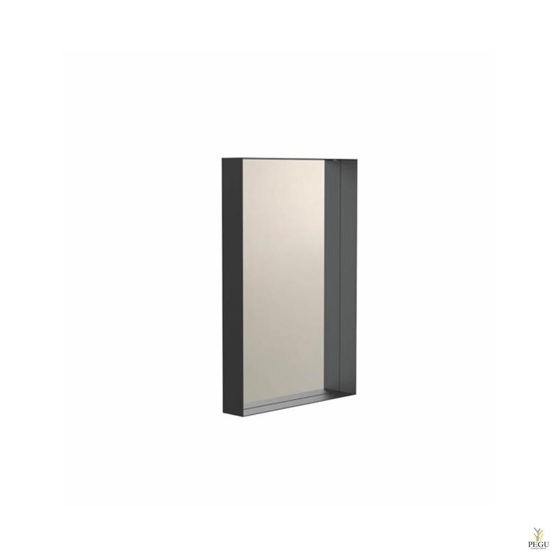 Зеркало Frost UNU с рамой , 400x600 чёрное