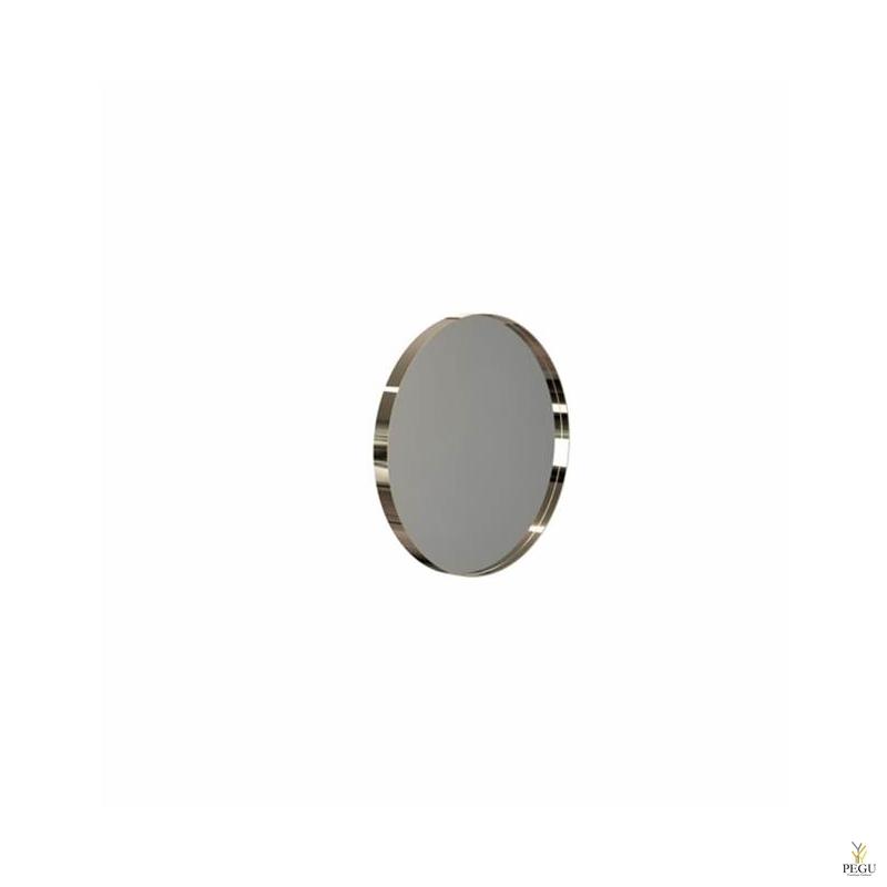 Peegel Frost UNU raamiga , d400mm kuld