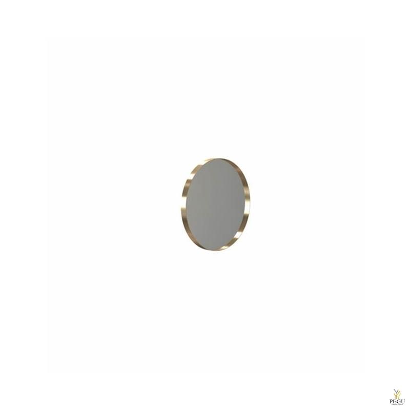 Peegel Frost UNU raamiga , d400mm harjatud kuld