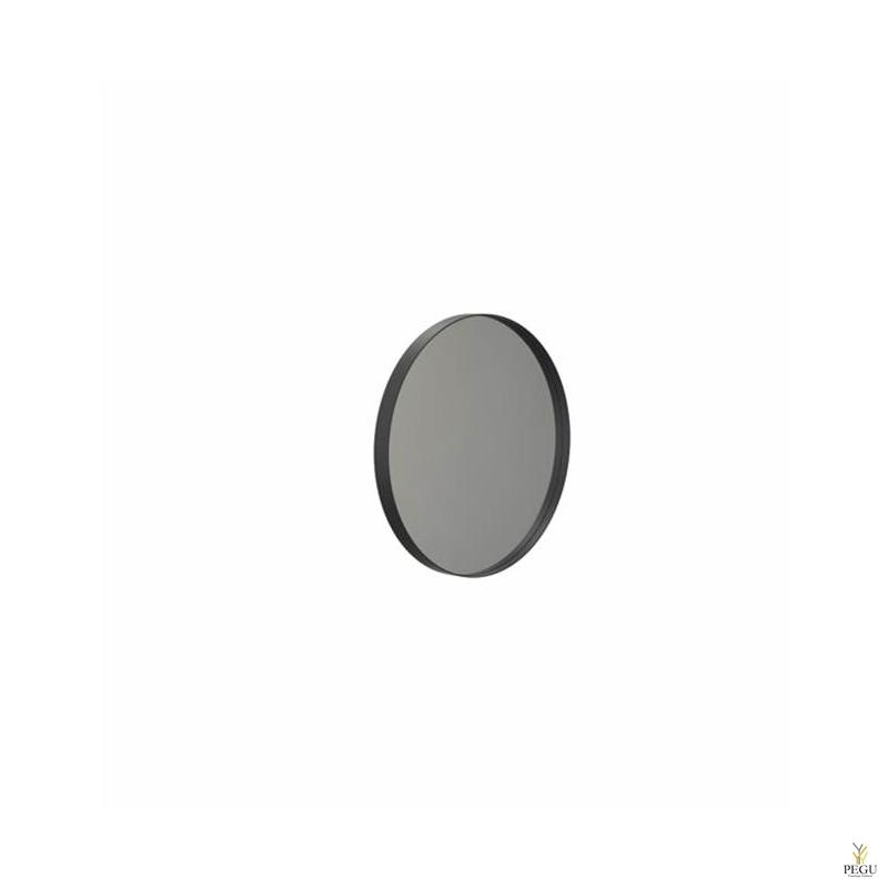 Зеркало Frost UNU с рамой , d400mm чёрное