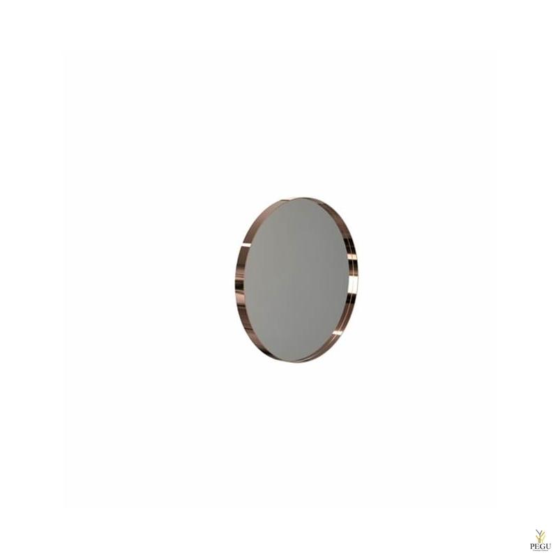 Зеркало Frost UNU с рамой , d400mm медь