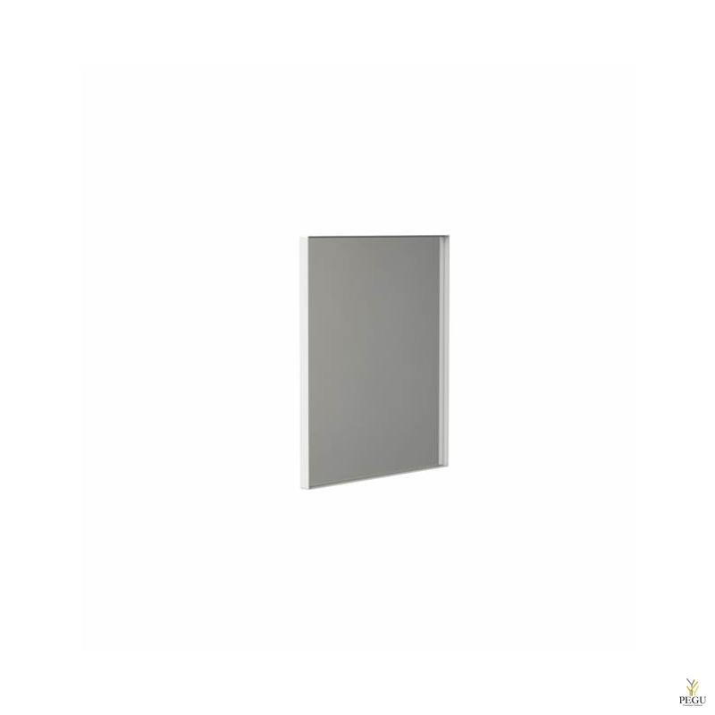 Frost peegel raamiga 600x500mm valge ALU