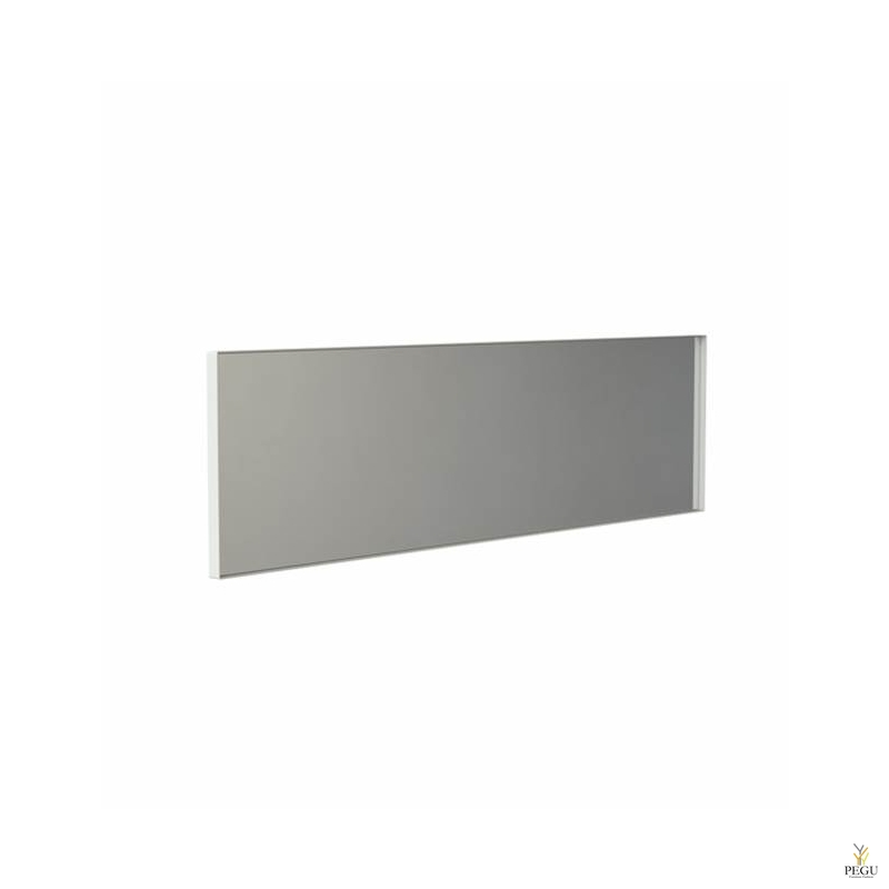 Frost peegel raamiga 1400x400mm valge ALU