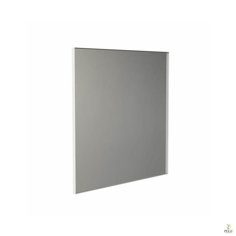 Frost peegel raamiga 1000x1000mm valge ALU