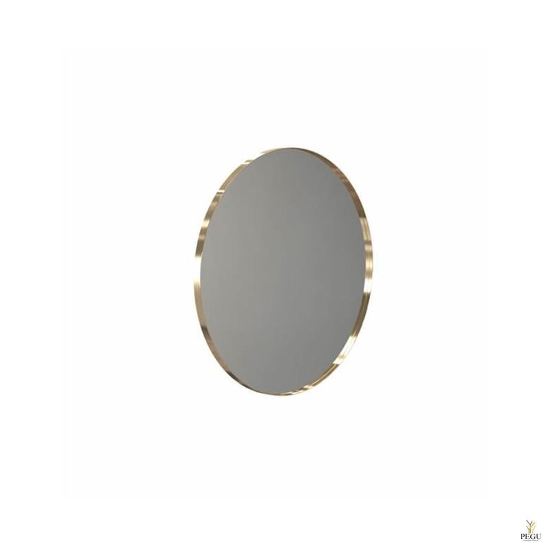 Peegel Frost UNU ümmargune raamiga d800mm harjatud kuld