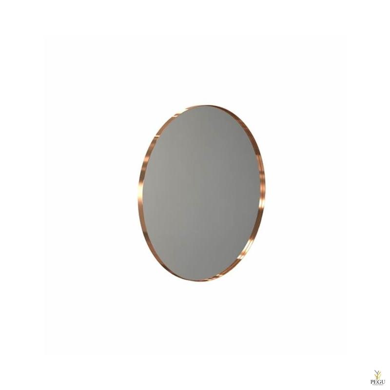 Peegel Frost UNU ümmargune raamiga d800mm harjatud vask