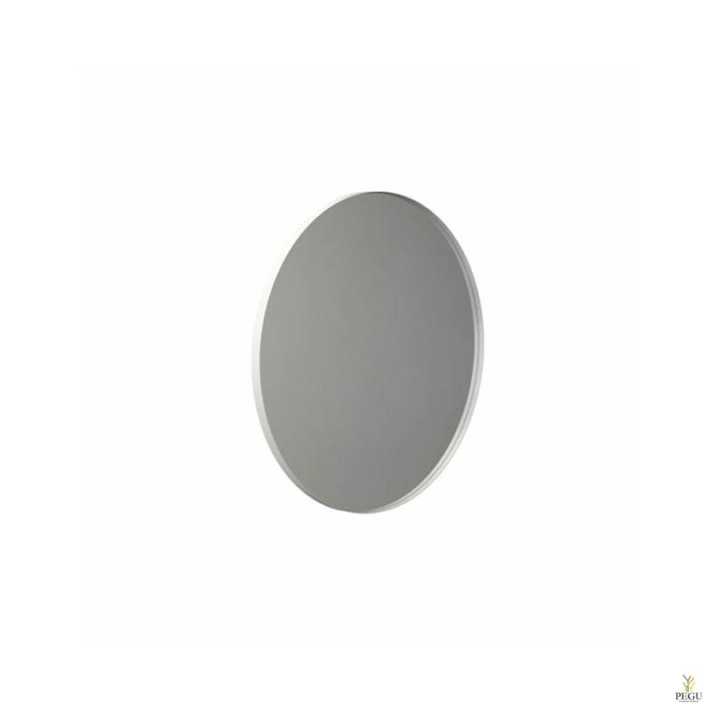 Peegel Frost UNU ümmargune raamiga d800mm valge