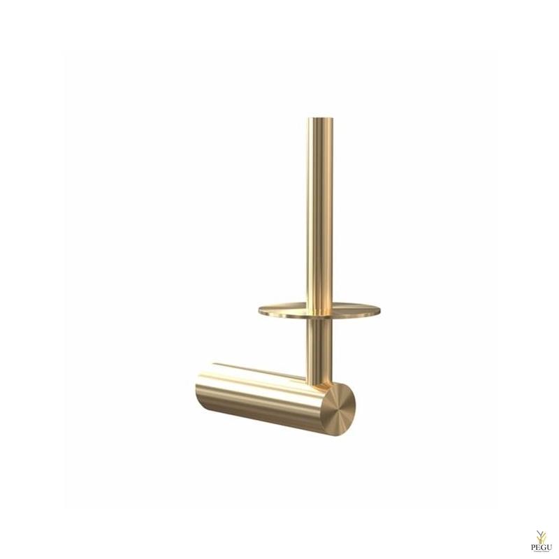 Держатель для дополнительного рулона NOVA2 матовое золото