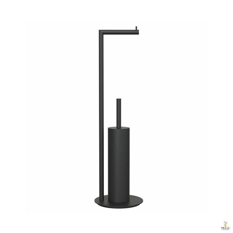 WC держатель 8 комбинированный, Чёрный