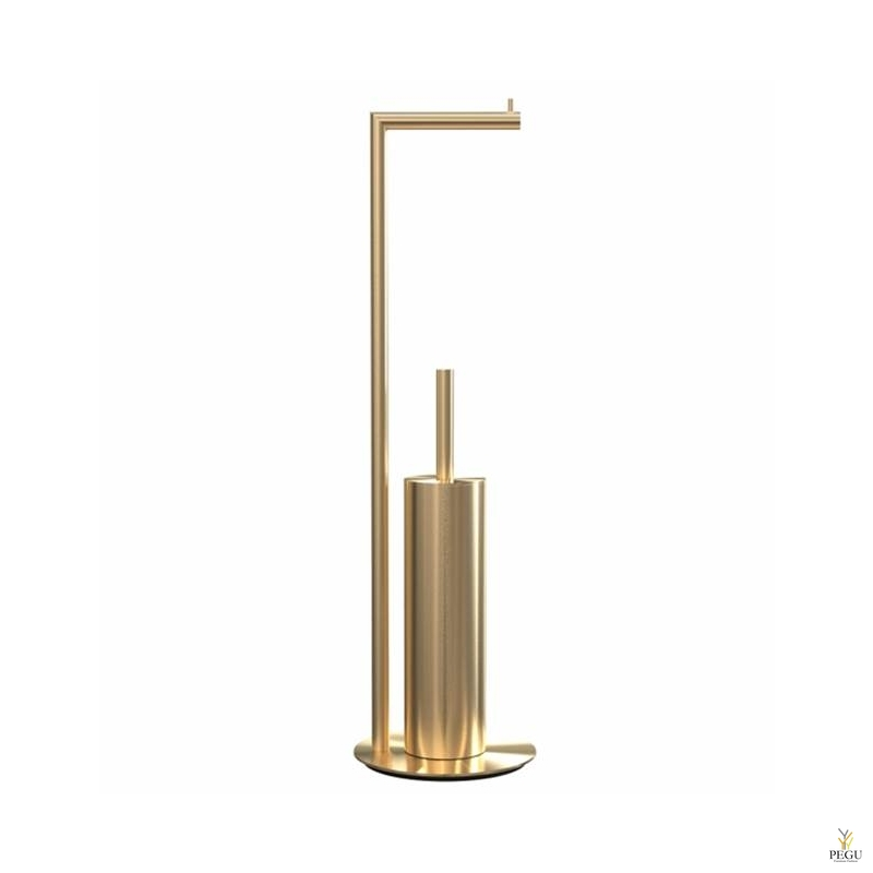Tualetthari wc paberihoidjaga 8 põrandale harjatud kuld