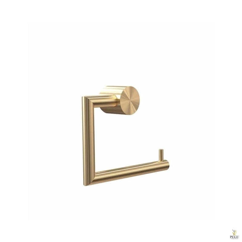 WC paberi hoidik NOVA2 harjatud kuld