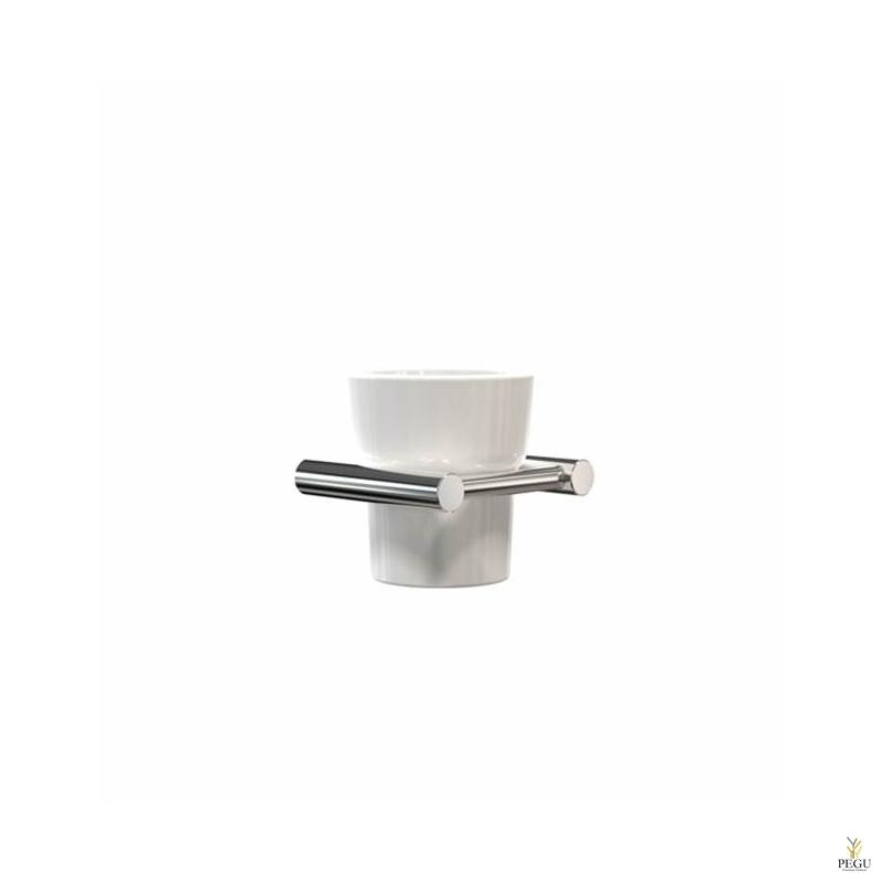 Frost Nova стаканчик с креплением CUP HOLDER керамика-Н/Р сталь  полированный