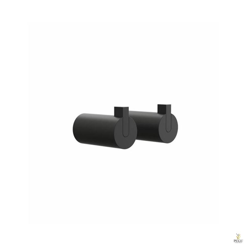 Крючки Nova 2 HOOK6L,  2 tk , чёрные