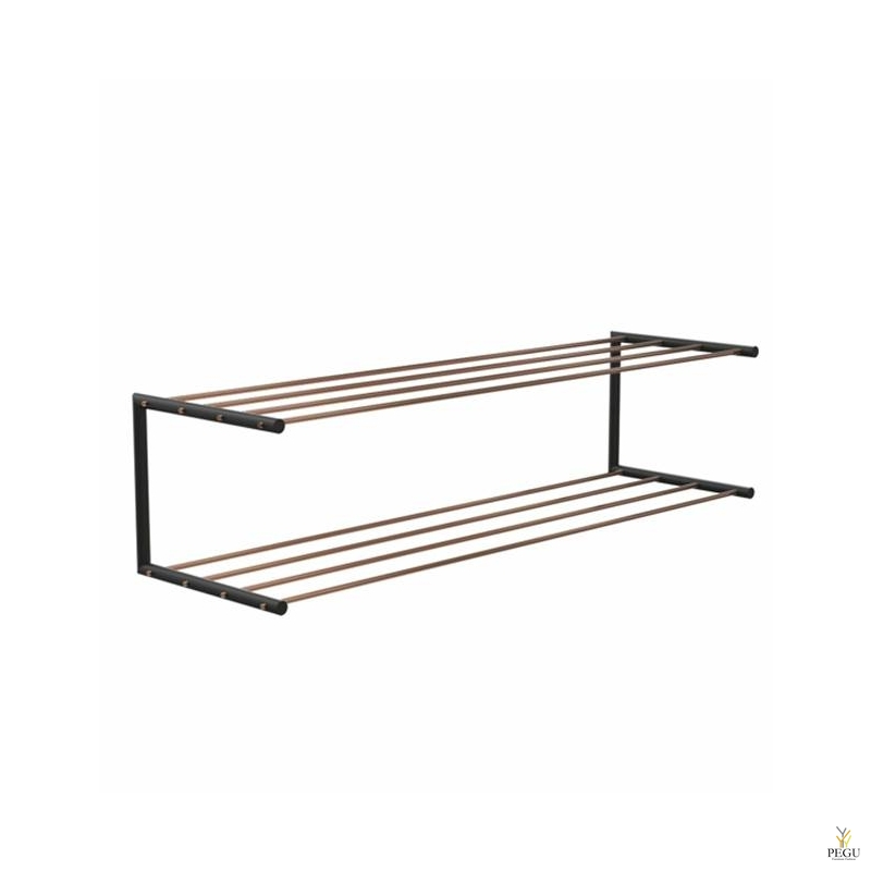 Frost Kingariiul Shoe shelf 2 Nova 1000mm R/V teras vask/must