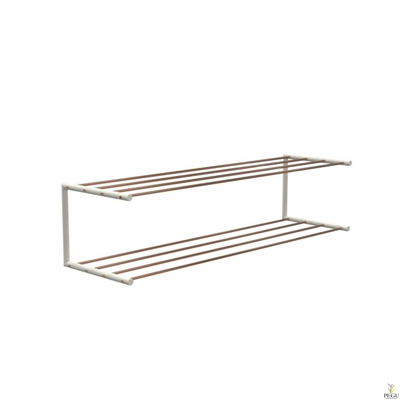 Frost Kingariiul Shoe shelf 2 Nova 1000mm R/V teras vask/valge