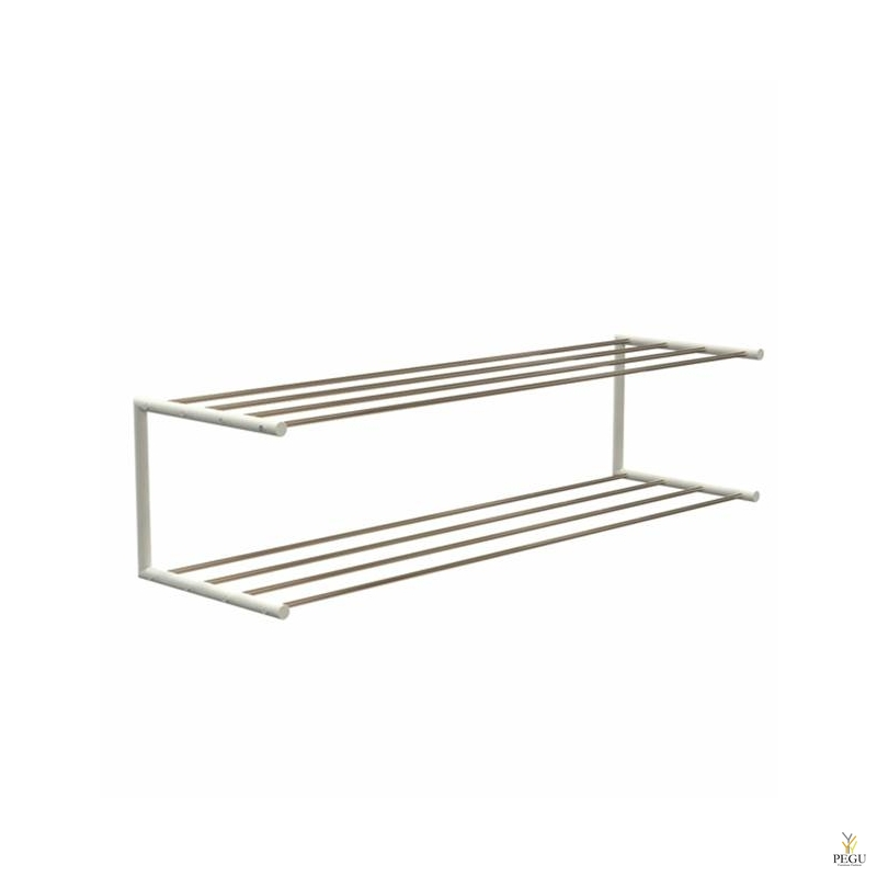 Frost Kingariiul Shoe shelf 2 Nova 1000mm R/V teras kuld/valge