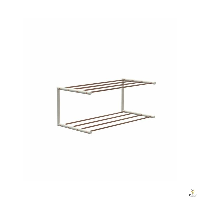 Frost Kingariiul Shoe shelf 1 Nova 600mm R/V teras vask/valge