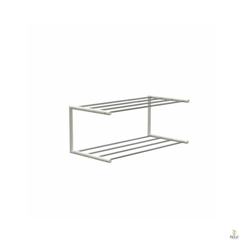Frost Kingariiul Shoe shelf 1 Nova 600mm R/V teras poleeritud/valge