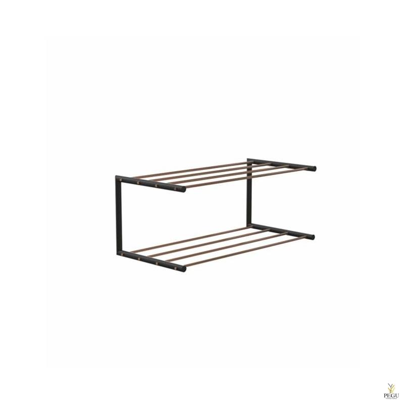 Frost Kingariiul Shoe shelf 1 Nova 600mm R/V teras vask/must