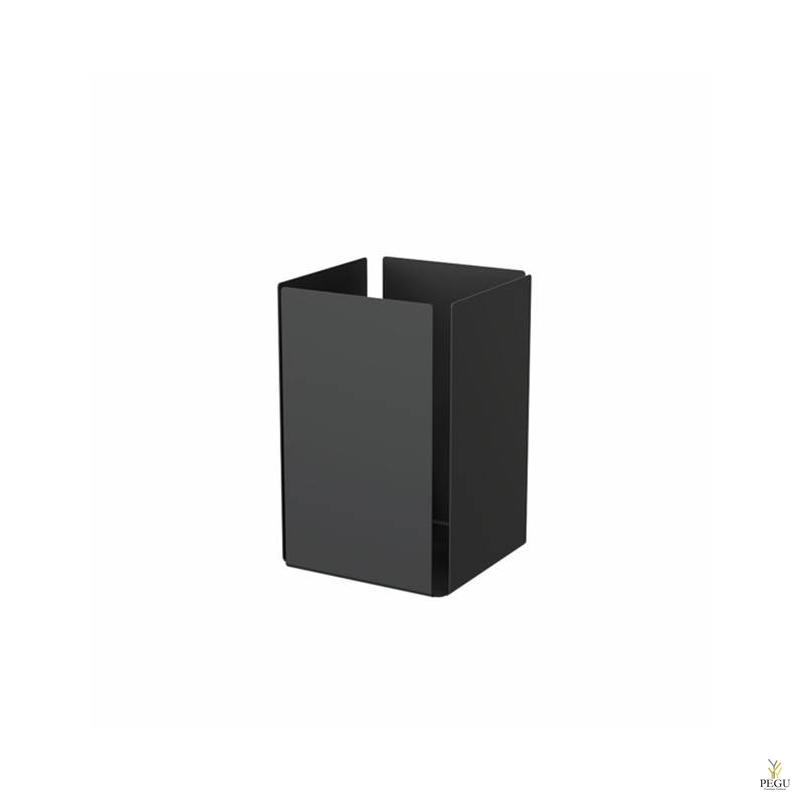 Frost урна для бумаги UNU алюминий чёрная