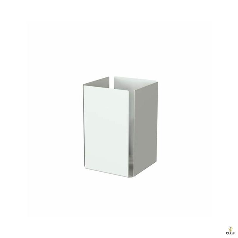Frost paberiurrn UNU aluminium valge