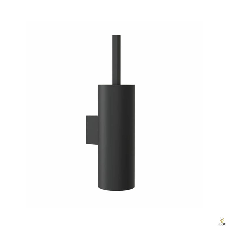 WC щётка QUADRA TOILET BRUSH 4, настенная, чёрная