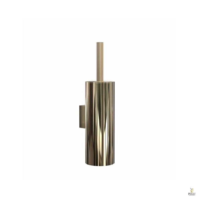 WC щётка QUADRA TOILET BRUSH 4, настенная золото