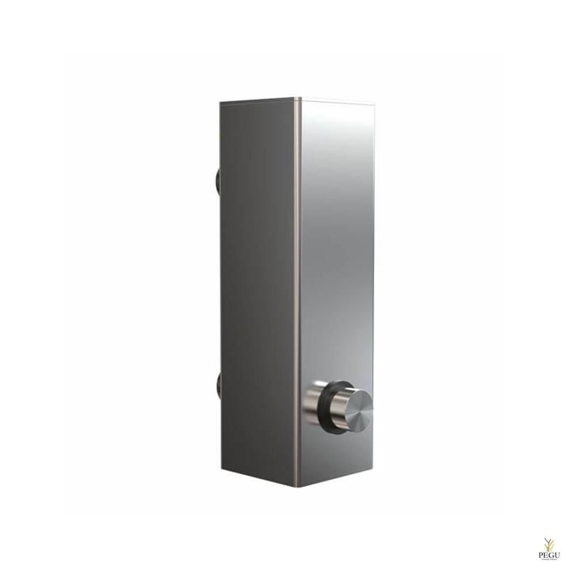 Дозатор для мыла FROST Quadra 4, настенный матовый