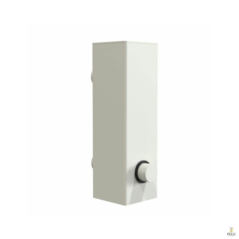 Дозатор для мыла FROST Quadra 4, настенный белый