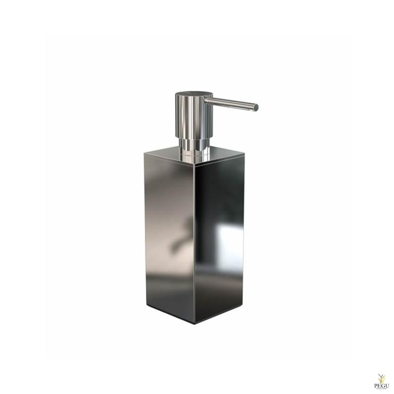 Дозатор для мыла квадратный FROST Quadra 5 полированный