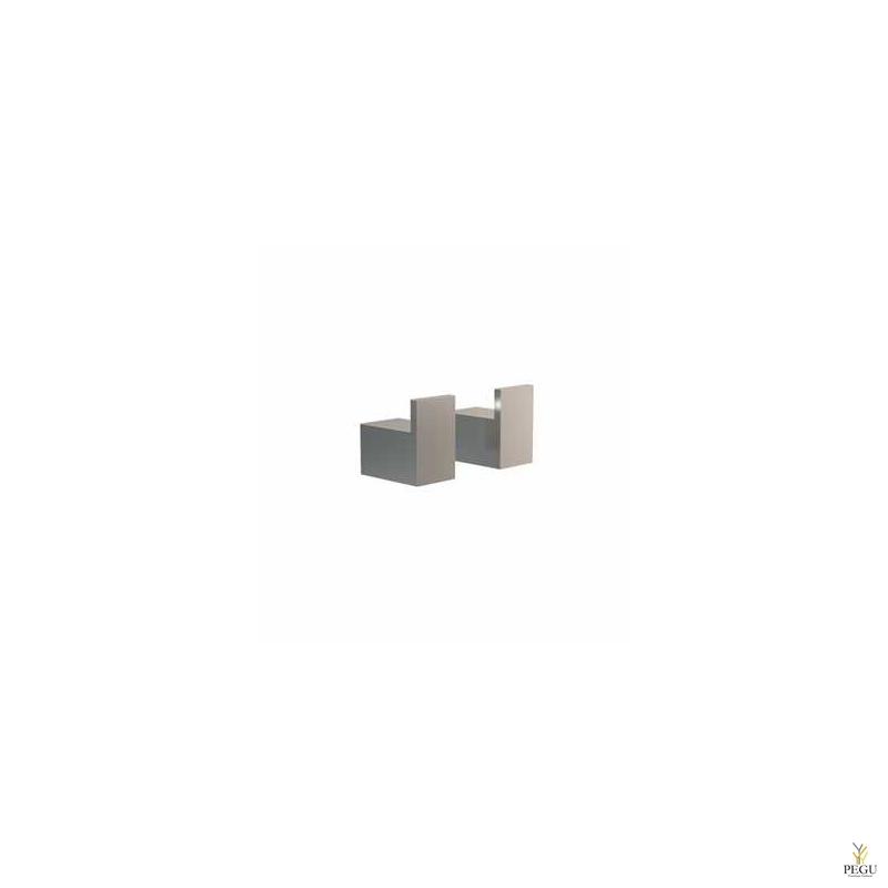 Крючки 8L, 2 шт. Quadra, Матовые