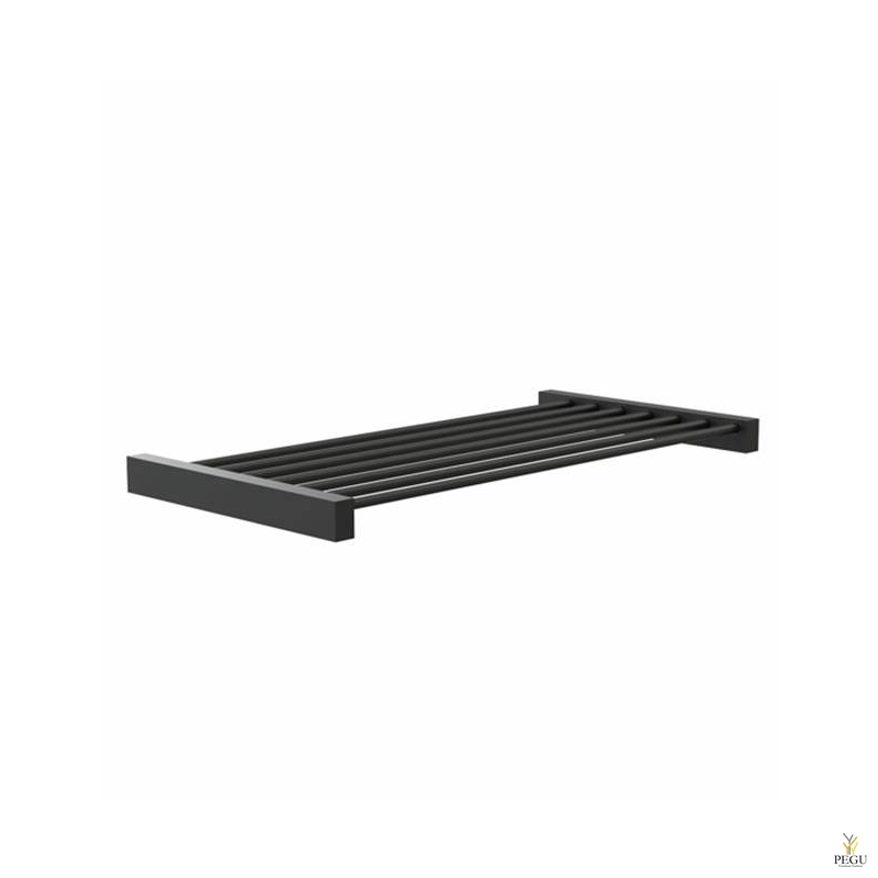 Полка FROST Shelf 8 600mm нержавеющая сталь чёрная