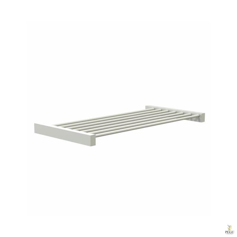 Riiul FROST Shelf 8 600mm roostevaba teras, valge
