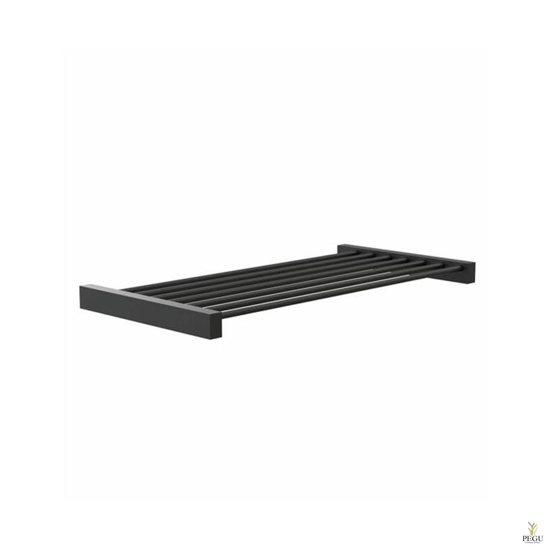 Riiul FROST Shelf 8 600mm roostevaba teras, must