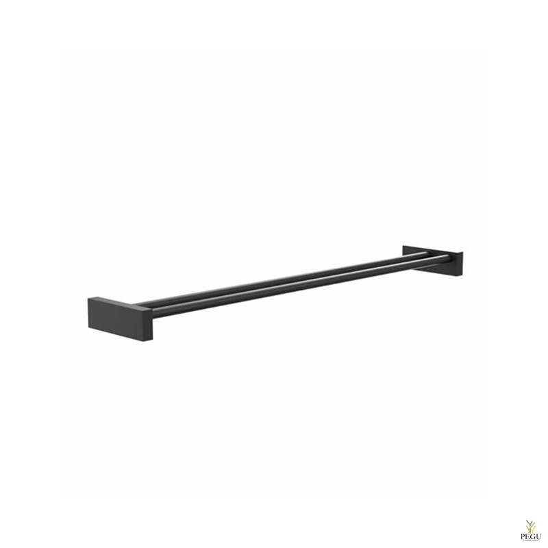 Käterätipuu 2-ne FROST Quadra TOWEL BAR 6 600mm must