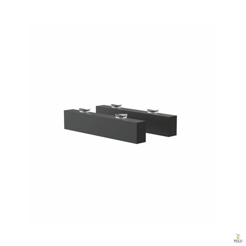 Frost riiulikandur SHELF BRACKET 3, 2 tk, Quadra, must