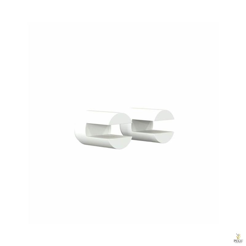 Frost крепления для полок SHELF CLAMP 5, 2 шт, NOVA2, белые