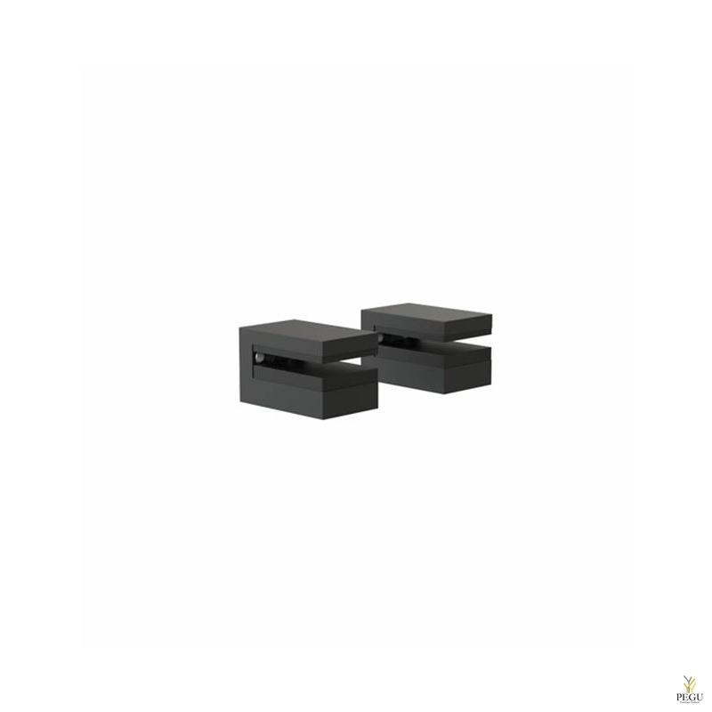 Frost крепление настенное для полки SHELF CLAMP 3, 2 tk, Quadra, чёрное