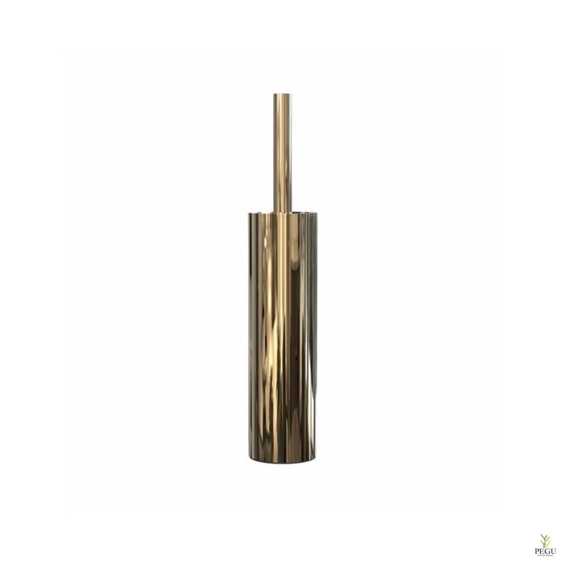 WC tualetthari Frost Nova 2 TOILET BRUSH 9 vabaltseisev roostevaba teras kuld