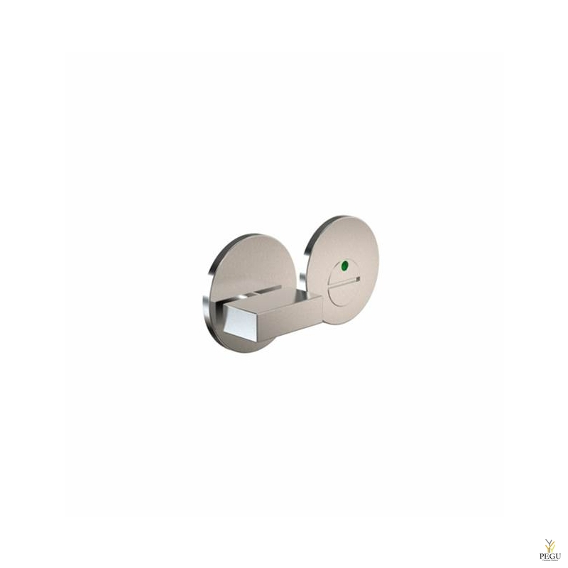 Замок для туалета с индикатором ELEMENT 2001 Modul, d50mm сатин