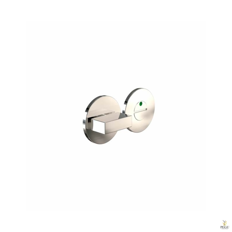 Туалетный замок-индикатор ELEMENT 2001, d50mm полированный