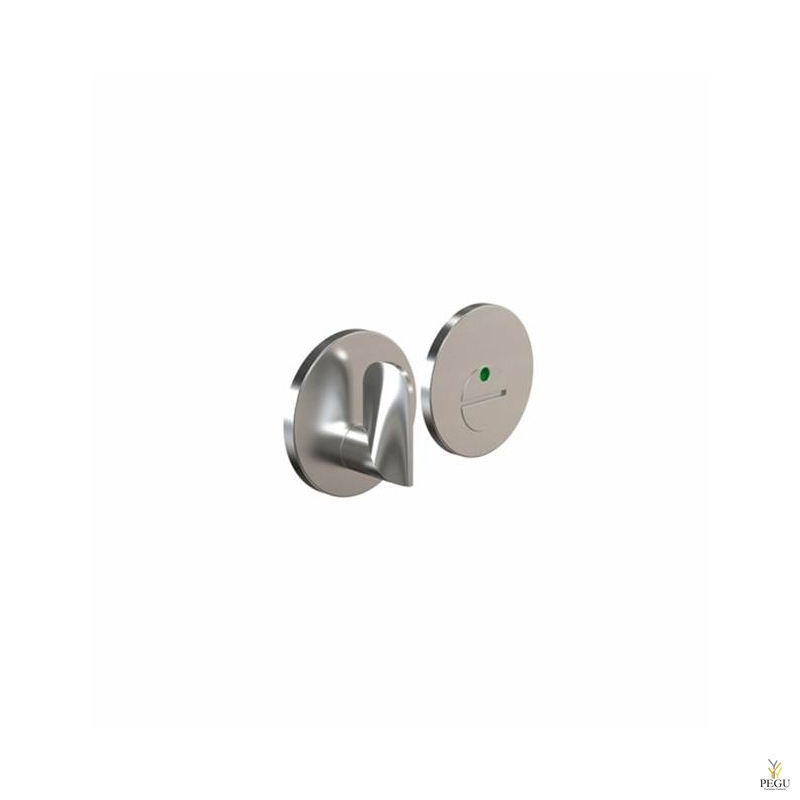 Tualett lukusti-indikaator HB202 modul, d50mm brushed