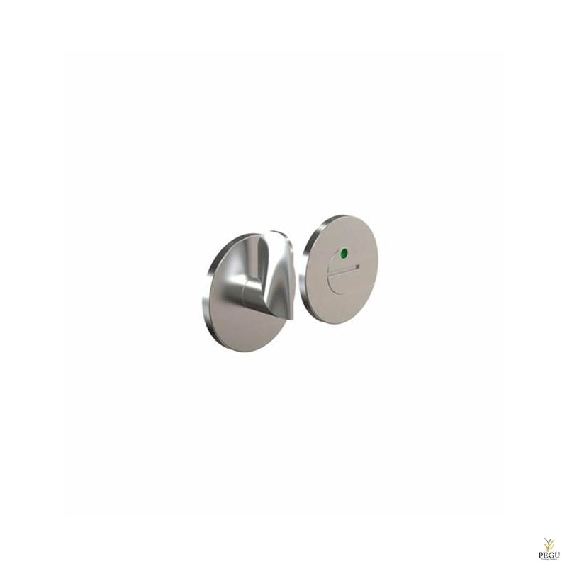 WC  замок с индикатором HB202, d50mm матовый