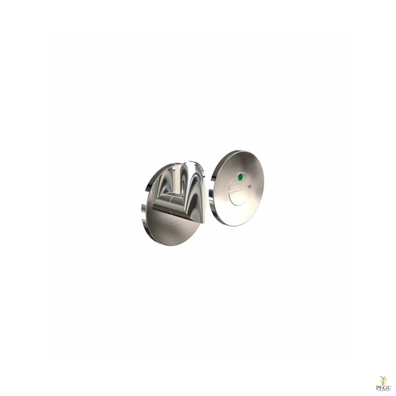 Tualett lukusti-indikaator HB202, d50mm poleeritud