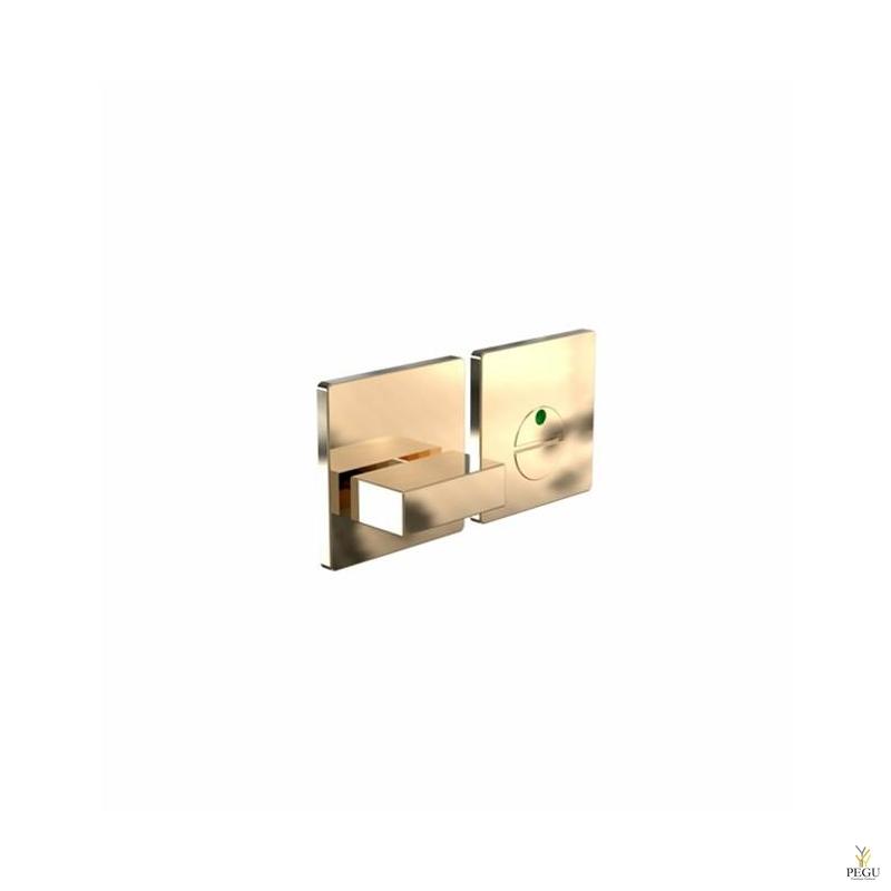 WC  замок с индикатором KUBE 2001 modul d50mm золото