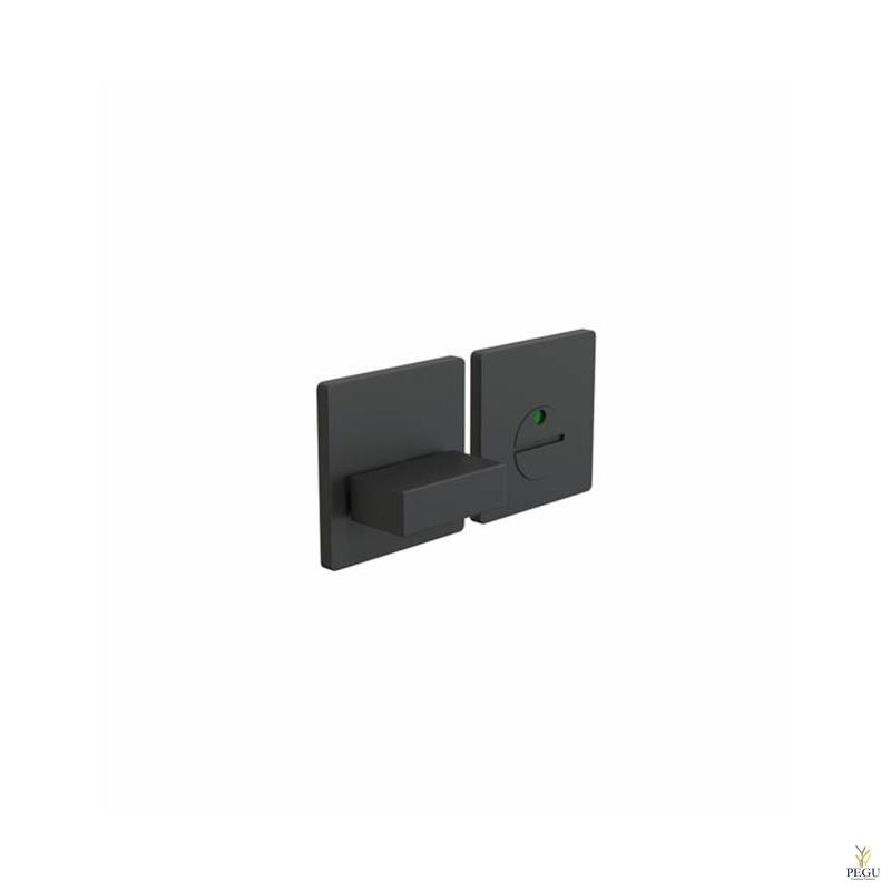 WC  замок с индикатором KUBE 2001 modul d50mm чёрный