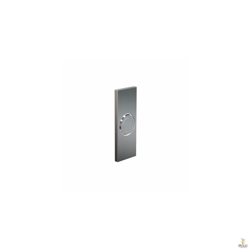 Кнопка дверного звонка Frost BELL PUSH 6051 Н/Р сталь матовая